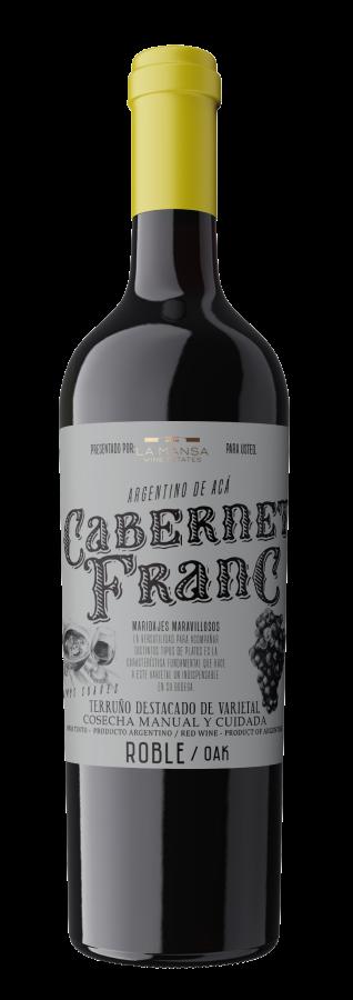 botella Argentino de acá cabernet franc