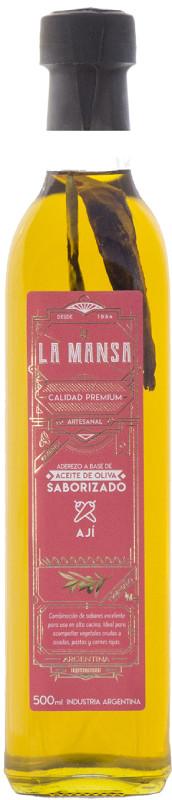 aceite saborizado la mansa